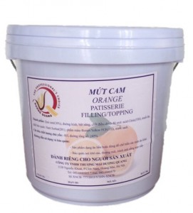 MỨT CAM( OREGANG PATSSERIE FILLTING)